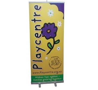 Commercial Pull Up Banner